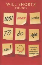 will shortz presents 1001 sudoku puzzles to do right now book cover