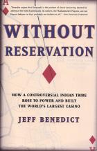 without reservation book cover